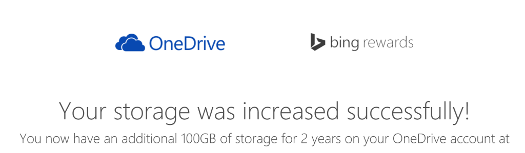 onedrive success
