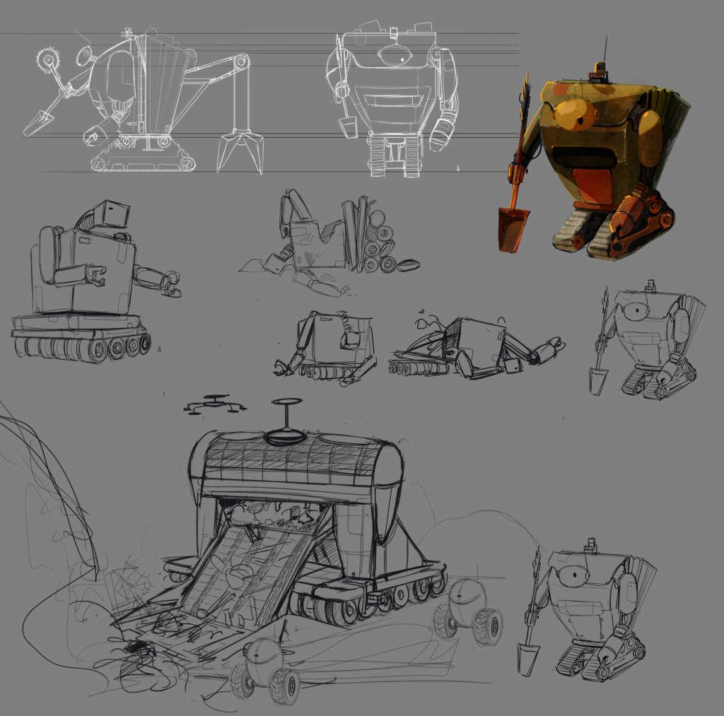 Trashtuga robot 01