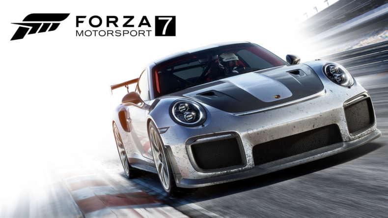Forza 7 Horizontal Silver Car 2