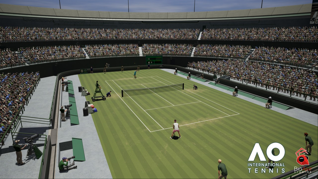 AO International Tennis Announce_Big Ant_ Screenshot 1