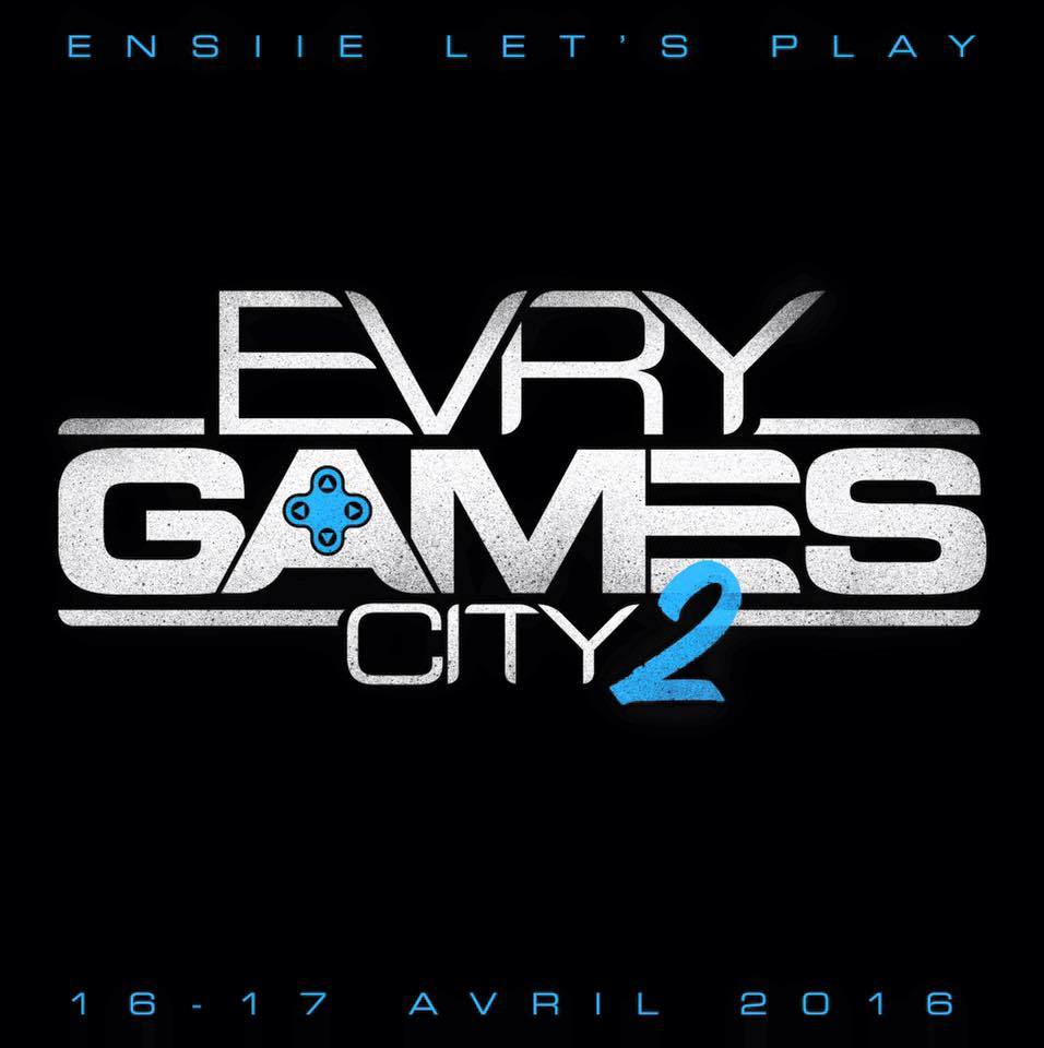 Affiche Evry Games City 2